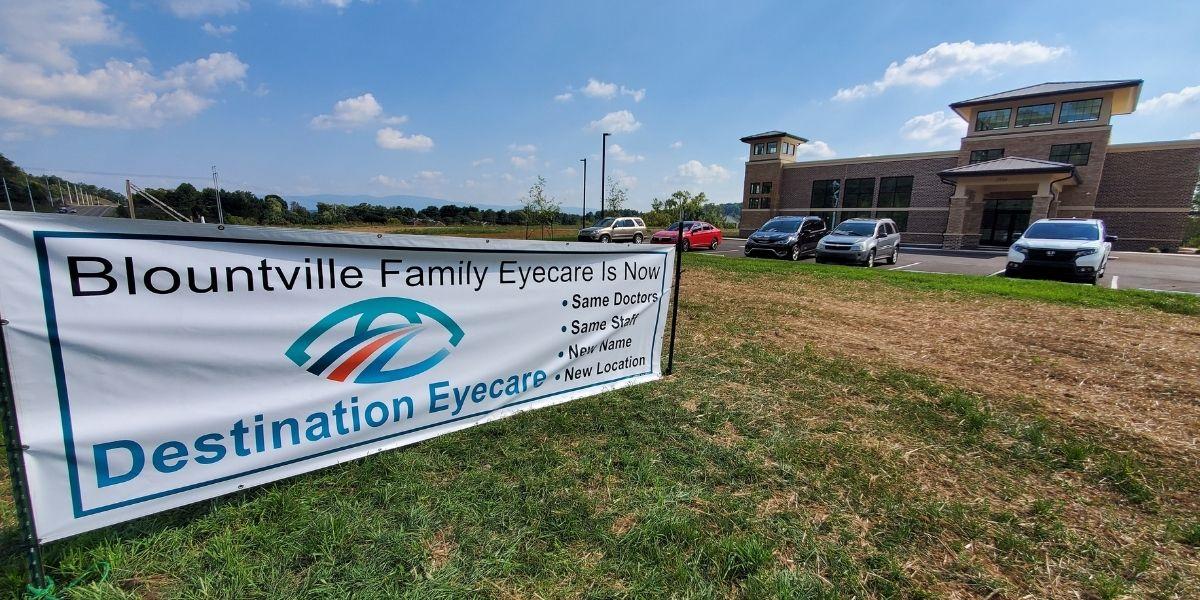 Blountville Family Eyecare is now Destination Eyecare